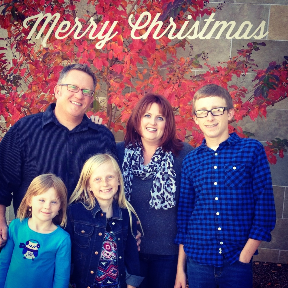 Schull family - Merry Christmas 2012