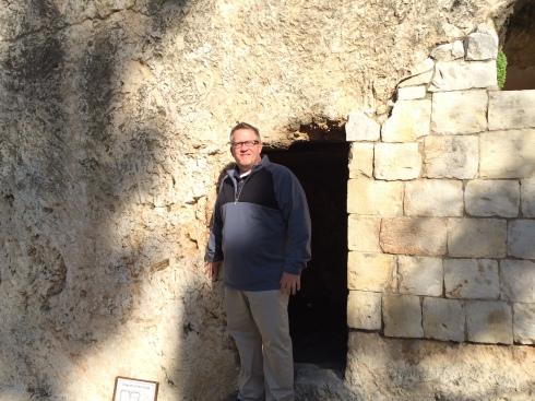 empty tomb entrance