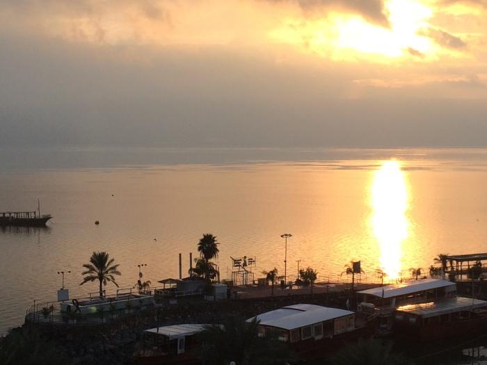Sea of Galilee - sunrise